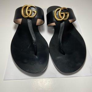 Gucci marmont t strap sandal